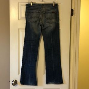 7 For All Mankind Bootcut Jeans 29